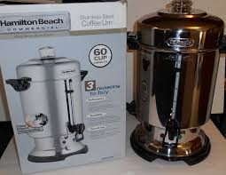 hamilton beach 60 cup coffee urn. Modren Urn Hamilton Beach Commercial 60Cup StainlessSteel Coffee Urn D50065 Intended 60 Cup A