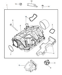 2009 chrysler aspen intake manifold diagram i2217752