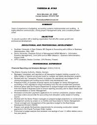 Financial Analyst Resume Summary Sample Inspirational Financial