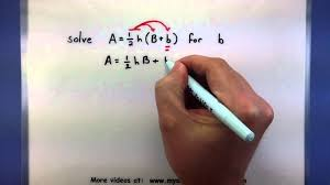 pre calculus how to solve a formula