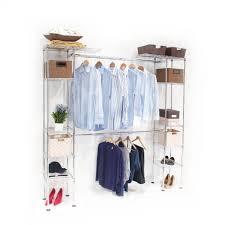 new expandable compatible closet or stand alone organizer bedroom loft portable