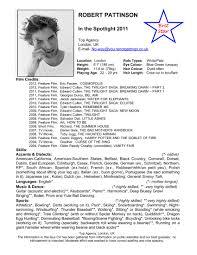 Special Skills On Resume Special Skills On Acting Resume Resume Online Builder 42