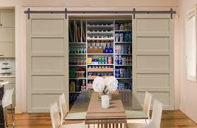 sliding barn doors. Sliding Barn Doors On A Las Vegas Pantry R