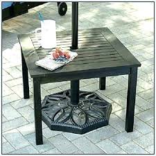 small round outdoor table small outdoor table with umbrella hole throughout small round outdoor table small