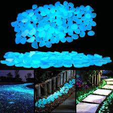 fit to viewer prev next glow in the dark garden pebbles