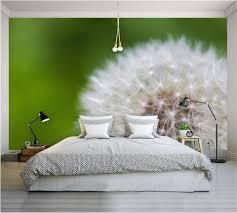 3d Behang Op De Muur In De Slaapkamer 40 Fotos Behang Boven Het
