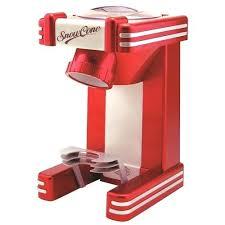 nostalgia microwave red