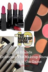 get an exclusive first look at the limited edition collaborations from the makeup show nyc s 10 year anniversary