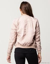 ivy main jackets women ivy main matte satin er jacket in dusty