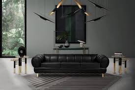 5 black leather sofas perfect for your