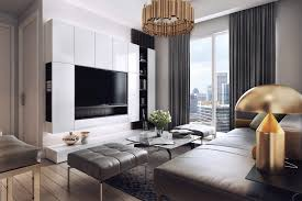 contemporary apartment furniture. luxurious apartment with dark interiors and stunning lighting contemporary furniture