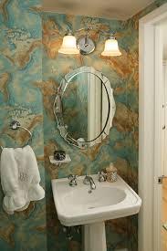 powder bath lighting ideas. powder room lighting ideas bathroom contemporary with wood trim map wallpaper towel ring bath s