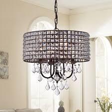 surprising antique bronze 4 light round crystal chandelier 13 darlic 18 inch pendant de4216f4 903b 4f20 8f19 5b89312edde5