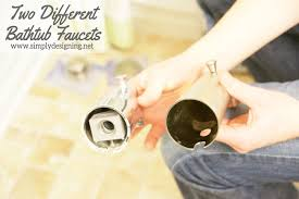 how to install incompatible bathtub faucet heads diy shower bathroom remodel
