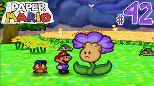 Flower Fields Paper Mario Paper Mario Gameplay Walkthrough Part 42 Welcome To