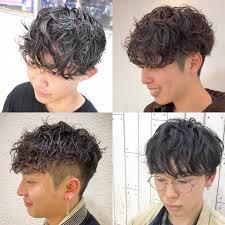 小上馬 淳司メンズヘアカラー美容師 On Twitter マッシュパーマ
