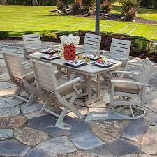 commercial outdoor dining furniture. Artisan 7-piece Dining Set By Ivy Terrace Commercial Outdoor Furniture