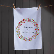personalised tea towel by koko blossom