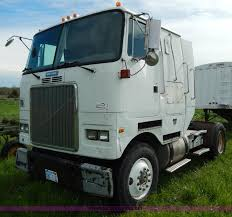white gmc trucks. Brilliant Gmc D8157 Image For Item 1992 White Gmc Semi Truck On Trucks
