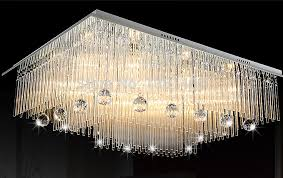square chandeliers modern new modern square crystal lamp remote control chandelier living led