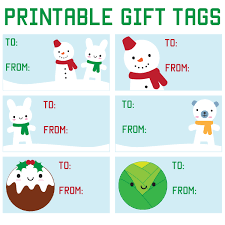 Christmas Tag Template How To Win Christmas Present Gift Tag Template