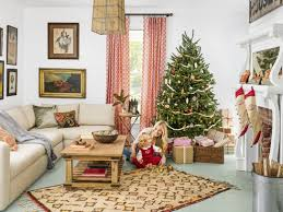 For Decorate A Living Room 100 Country Christmas Decorations Holiday Decorating Ideas