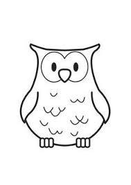 Kleurplaat Baby Uil Google Zoeken Thema Herfst Owl Coloring