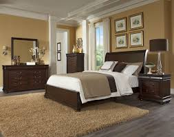 Klaussner Bedroom Furniture Klaussner International Parkview King Sleigh Headboard Bed With