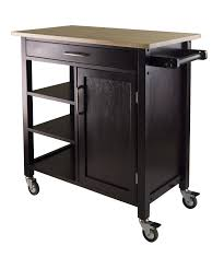 kitchen carts with wheels winsome wood cart white storage unfinished undercounter marble top microwave stand rolling table stainless island small trolley