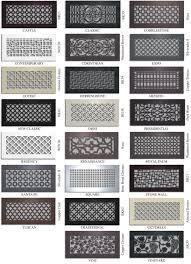 Decorative Grates Registers Vent Covers Unlimited Custom Metal Registers And Air Return