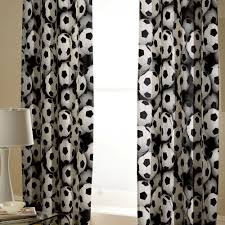 Exellent Black And White Curtains Its A Goal To Inspiration Decorating
