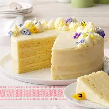 Lemon Layer Cake Recipe Taste Of Home