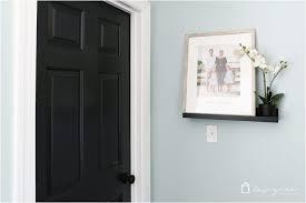 diy paint interior doors painting interior doors black high impact low update