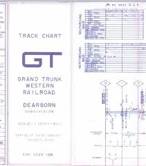 Prr Track Charts Gtw Ohio Div Track Chart 1991 Pdf Multimodalways