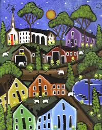 Dream World Painting by Lori Everett