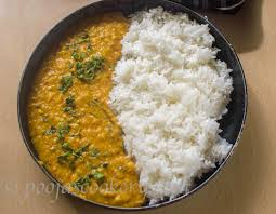 Image result for dhal and rice