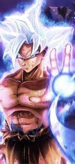 Best Goku ultra instinct iPhone HD ...