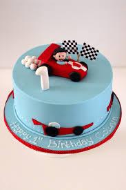 Racing Car Birthday Cake Vehicle Cakes Toddler Birthday Cakes