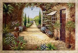 secret garden i painting vivian flasch secret garden i art painting