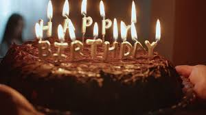 chocolate birthday cake with candles. Interesting Chocolate Chocolate Birthday Cake With Burning Candles Are Brought To The Room Stock  Video Footage  Videoblocks Throughout Chocolate Birthday Cake With Candles