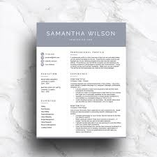 3 Page Modern Resume Template - Resumes