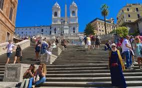 Die spanische treppe zwischen himmel und erde. Rom Spanische Treppe Trinita Dei Monti Kirche Villa Borghese Passenger On Earth