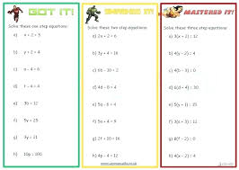 2 step equations worksheet solving two step equations one on solve the best i worksh 1