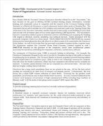 14+ Information Technology Project Proposal Templates - Pdf, Doc ...