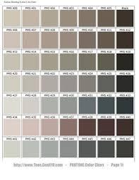 Pantone Color Chart Pms Screen Printing In 2019