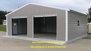 10 x 9 garage door30x25x9 f Boxed Eave Garage
