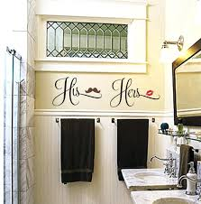 His And Hers Bedroom His And Hers Bathroom Decal Lips Mustache Decal His  Hers Bedroom Decals