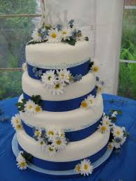Melinda S Daisy Wedding Cake Cakecentral Com