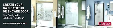 shower door track delta sliding doors bottom replacement tips for clean