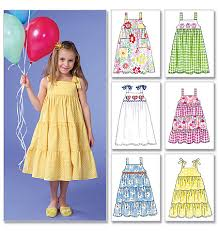 Dress Patterns For Toddlers Adorable McCall's 48 Toddlers'Children's Dresses